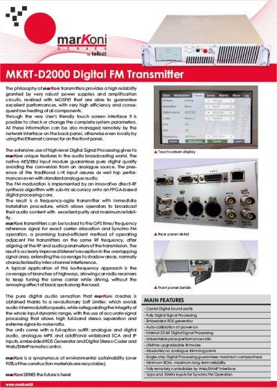 MRKT-D2000