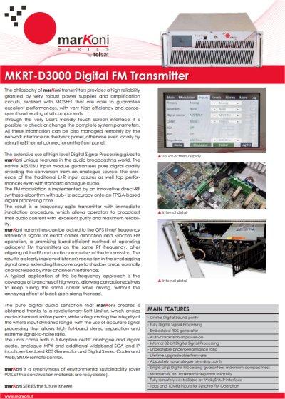 MRKT-D3000