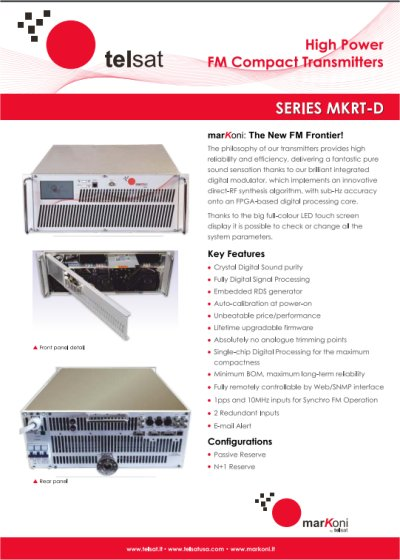 MKRT-D High Power Compact